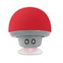 Mushroom speaker red