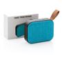 Fabric speaker blue