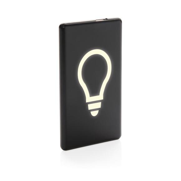Light up logo powerbank