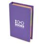 hard back flag book purple