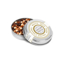 silver tin - caviar pearls