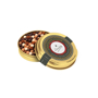 gold tin - caviar pearls
