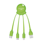 Octopus cable green