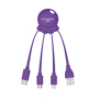 Octopus cable purple