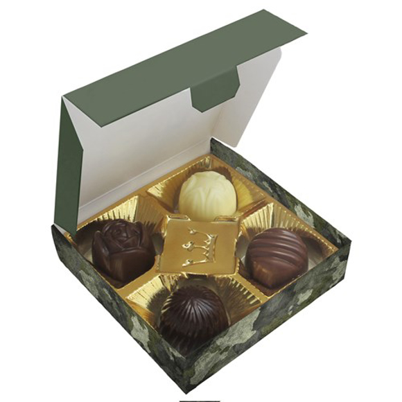 chocolate box - 4 pralines