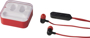 colour pop earbuds red