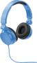 Rally headphones blue