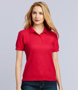 gd42 dryblend polo ladies red