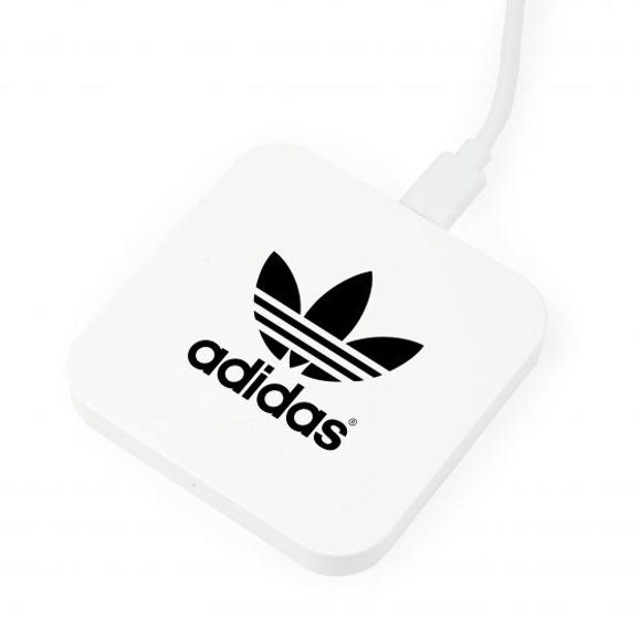 Mini square charger white