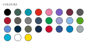 H475 Coolplus colours