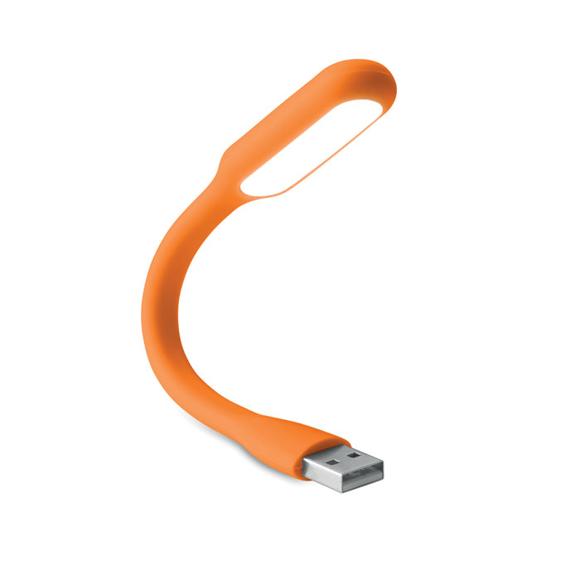 usb light orange