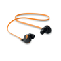 Rockstep earbuds orange