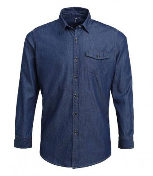pr222 denim shirt