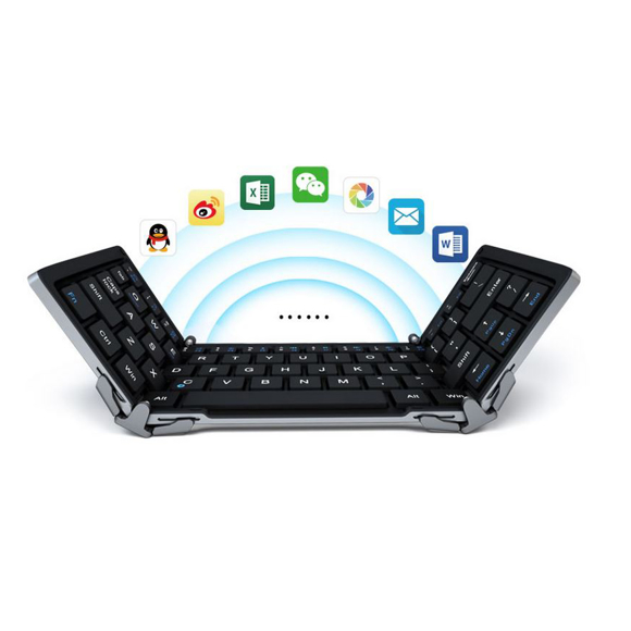 Bluetooth keyboard open