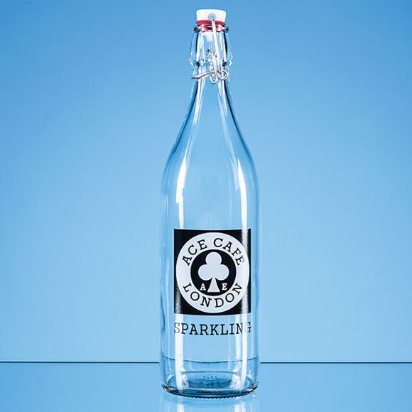 Swing top bottle