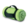 fleece blanket green