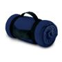 fleece blanket navy blue