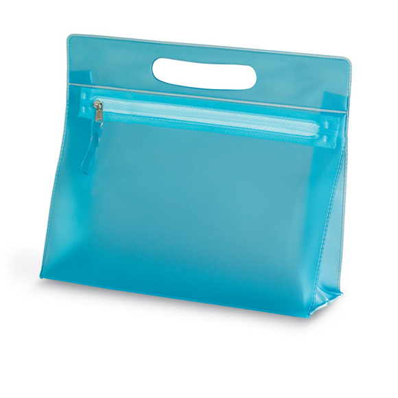 Cosmetic pouch blue