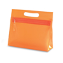 Cosmetic pouch orange