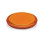 double compact mirror orange