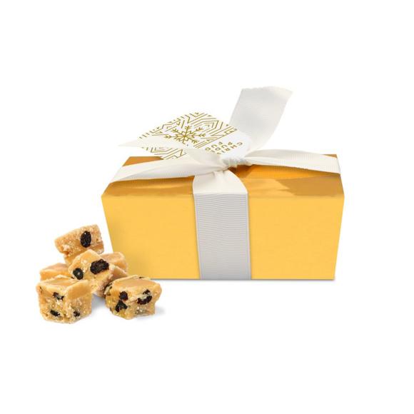 Ballotin box of fudge