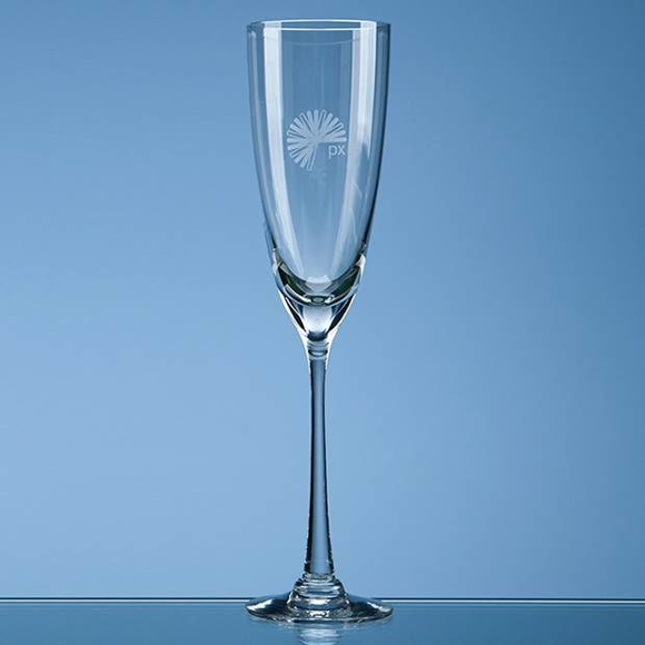 darlington crystal champagne glass