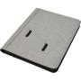 A4 docu folder grey