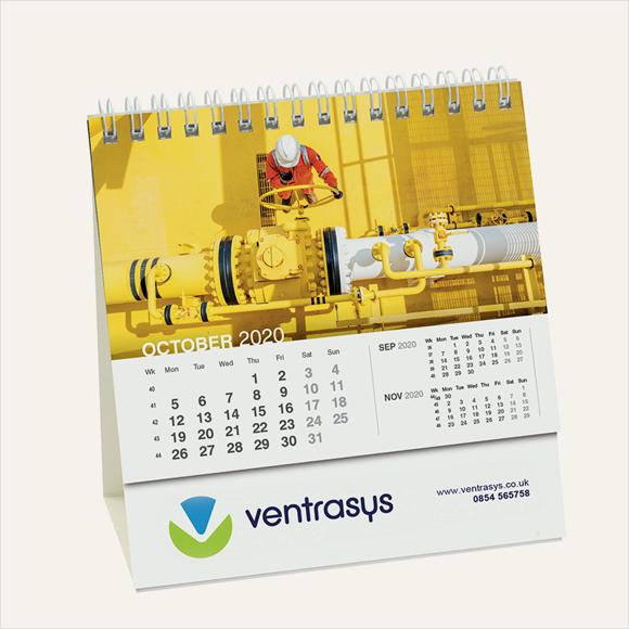 calendar compact easel