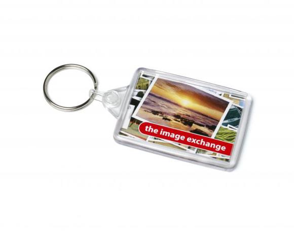 acrylic rectangle keyfob