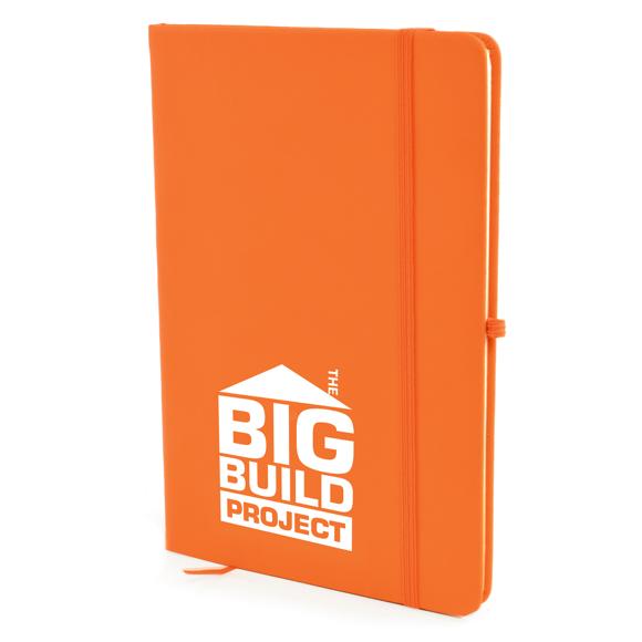 Mole notebook orange