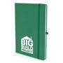 Mole notebook dark green