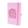 Mole notebook pastel pink