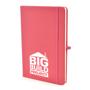 Mole notebook pink