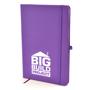 Mole notebook purple
