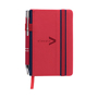 pocket crosby notebook red