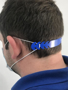 face mask strap worn