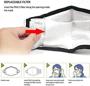 face mask filter system
