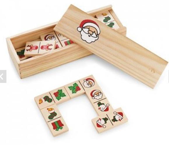 Christmas dominos