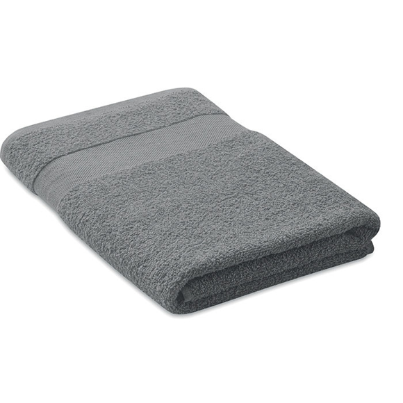 Organic towel grey